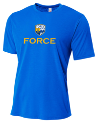Force Wicking Tee - Royal