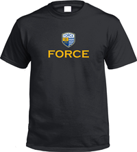Force SS Tee - Black