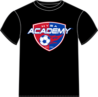 Black Dri-Fit Academy Tee