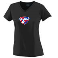 Black Academy Tee - Ladies