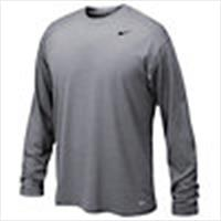Nike Legend l/s Tee-Grey