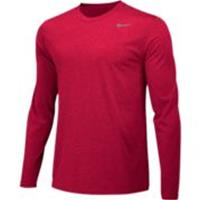 Nike Legend l/s Tee-Red